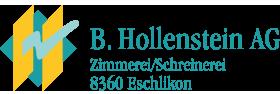 B. Hollenstein AG Logo